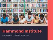 Certificate Courses In Child Care by Hammond Institute