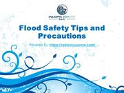 Flood Safety Tips and Precautions