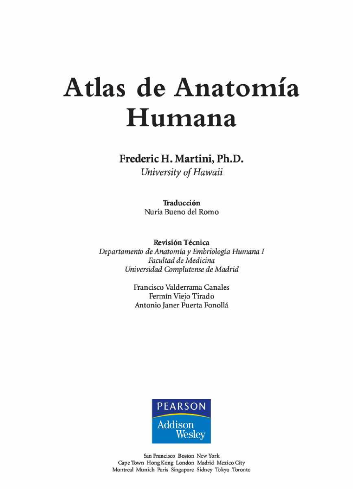 Atlas de Anatomia Humana |authorSTREAM