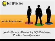 Get Real 70-762 Practice Test for 70-762 exam