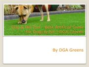 Dog & Pet Turf - Best Artificial Grass for Dogs & Pet  DGA Greens