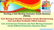 Starting a Fast Moving Consumer Goods Business (FMCG)
