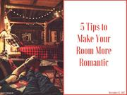 5 Tips to Make Your Room More Romantic |  Newtoninex
