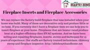 Fireplace Inserts and Fireplace Accessories