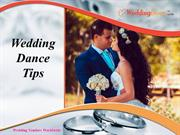 Wedding Dance Tips