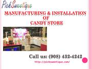 Design Your candy Store | Snacks, Food Store Installer