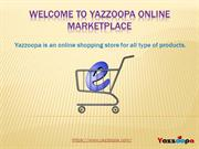 Yazzoopa  - An Online Shopping Store for all type of Products