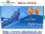 Ideal Stock Investment Advisory Provides Intraday Stock market tips