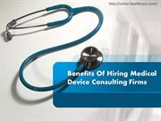 Medical Device Consulting Firms