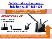 Buffalo Router technical support number +1-877-885-4824 New yo