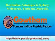 Famous Indian Vedic Astrologer in Sydney, Melbourne