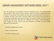 Library Management Software For School, Colleges, Universities