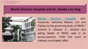 Manila Doctors Hospital and Dr