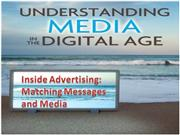 Inside advertisement Matching Messages to Media