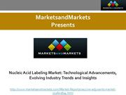 Nucleic Acid Labeling Market Technological Advancements, Evolving Indu