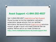 Contact Avast Antivirus Support +1-844-292-4927 Number