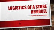 Logistics Of A Store Remodel Logistics