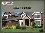 Dave's Painting Presentation