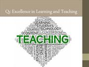 Qc Excellence in Learning and Teaching