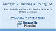Murrayville Plumbing & Heating Ltd.