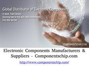 Electronic Components Manufacturers & Suppliers - Componentschip.com