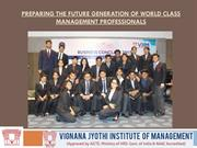 Preparing The Future Generation Of World Class Management Professional