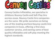 bouncy castle hire in canve island island