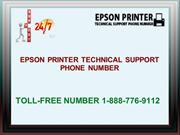 Epson Printer Technical Support Phone Number 1-888-776-9112