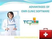 ADVANTAGES OF EMR CLINIC SOFTWARE DONE FINAL