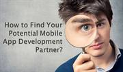 How to Find Your Potential Mobile App Development Partner