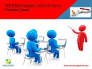 MIS & Data Analysis in Excel & Access Training Classes in Delhi NCR