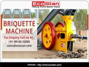 No 1 Briquetting Press Machine Sale In India