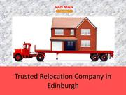 Get Professional Removal Experts with Moving van Services in Edinburgh