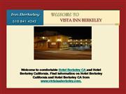 Motel and Hotel in Berkeley California