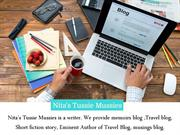 True Tales, Memoirs Blog - Nita Tussie Mussies