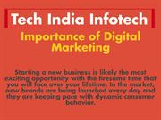 Importance of Digital marketing in Startup business PPT