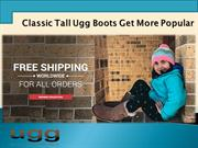 Classic Tall Ugg Boots Get More Popular
