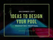 Ideas to design your pool