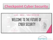 The World Leading checkpoint Cyber Security for threat prevention