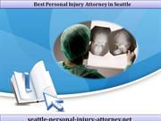 Best Personal Injury Attorney in Seattle