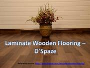 laminate wooden flooring by DSpaze