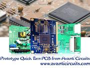 Prototype Quick Turn PCB from Avanti Circuits