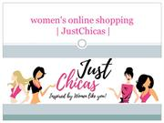 All in one online shopping for women-JustChicas