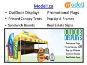 Buy Best & Unique Trade Show Display | Modell.ca