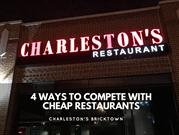 4 ways to compete with cheap restaurants