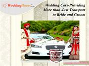 Wedding Cars-Providing More than Just Transport to Bride and Groom
