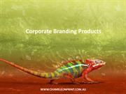 Corporate Branding Products - Chameleon Print Group