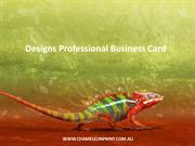 Designs Professional Business Card - Chameleon Print Group