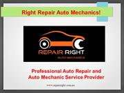 Professional Auto Repair and Auto Mechanic Service Provider