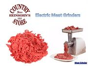 Meat Grinders - Electric Meat Grinders
